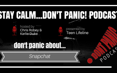 Don't Panic about Snapchat
