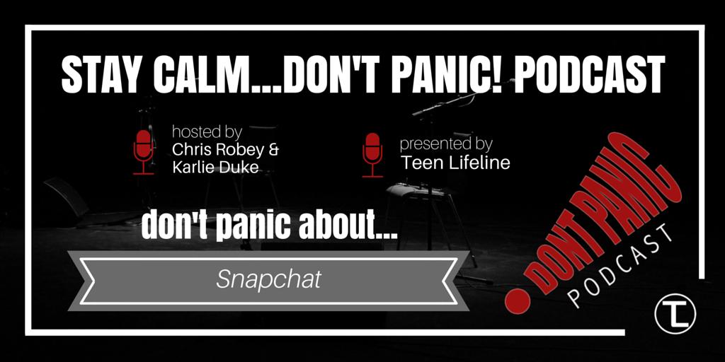 Don't Panic about Snapchat