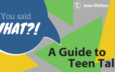 You Said WHAT?! – A Guide to Teen Talk