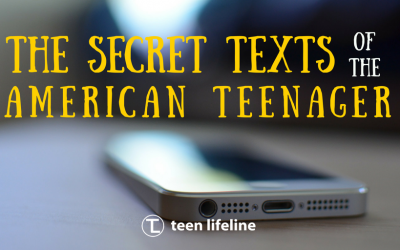 The Secret Texts of the American Teenager