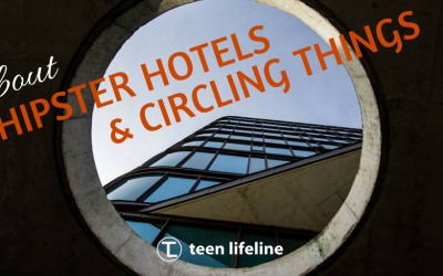 About Hipster Hotels and Circling Things